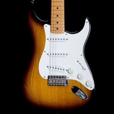 40th Anniversary 1954 Reissue Stratocaster in 2-Tone Sunburst, Pre-Owned