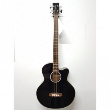 Tab 1 Semi-Acoustic Bass, CE, Black, preowned (Aintree Store)