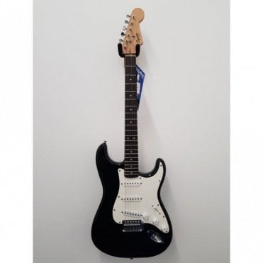 Squier Bullet Stratocaster, Black, Maple Neck, Preowned (Aintree Store)