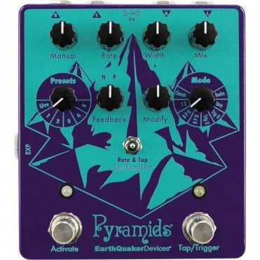 Pyramids Stereo Flanger Pedal