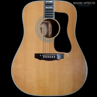 1976 D-55 Dreadnought Acoustic Guitar w/ Pickup, Pre-Owned