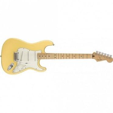 Player Stratocaster w/ Maple Fingerboard (Buttercream)