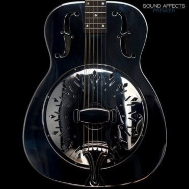 Recording King RM-998-D Model Style 'O' Nickel Plated Resonator, Pre-Owned