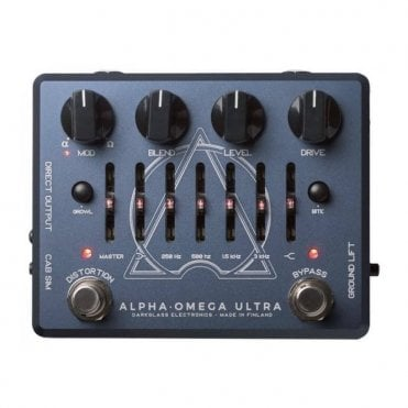 Alpha Omega Ultra Jon Stockman Signature Bass Dual Distortion Pedal