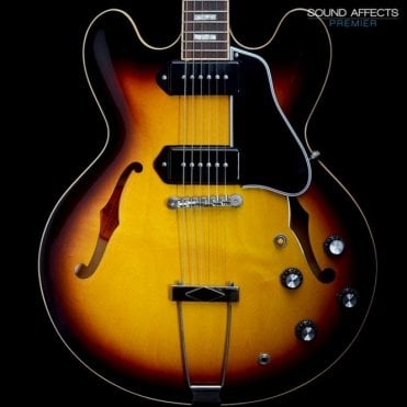 2009 ES-330 Semi-Holow Electric Guitar, Tobacco Sunburst, Pre-Owned