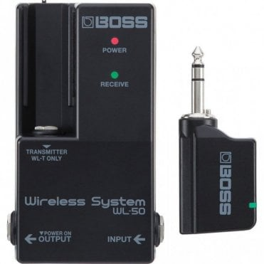 WL-50 Wireless Guitar System for Pedalboards