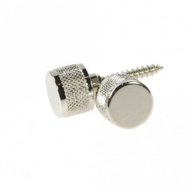 Official Strap Buttons inc Mounting Hardware (Chrome)