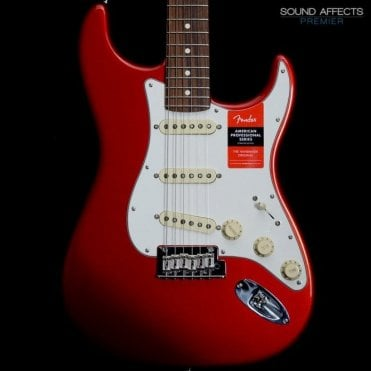 American Professional Stratocaster, Candy Apple Red w/ Rosewood Fingerboard