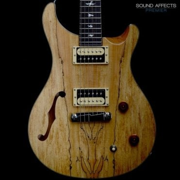 Custom 22 Semi-Hollow Ltd Edition Exotic Electric Guitar in Spalted Maple, Pre-Owned