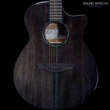 Nexus Venus Electro Acoustic Guitar, Copper Black, B-Stock