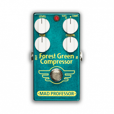 Forest Green Compressor Effects Pedal