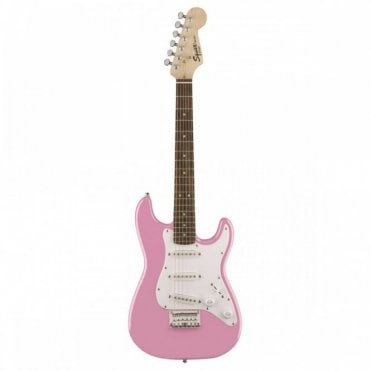 Mini Stratocaster 3/4 Size (Pink)
