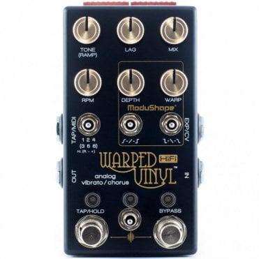 Warped Vinyl HiFi Guitar Effects Pedal