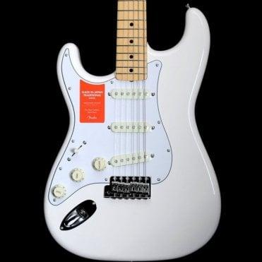 FSR MIJ 68 Stratocaster Left Handed, Arctic White
