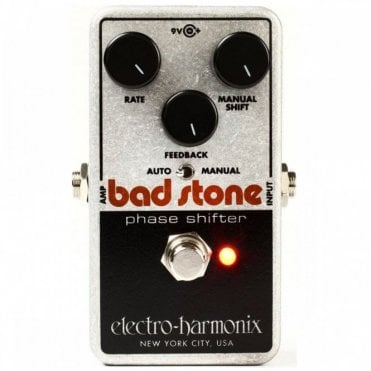 Bad Stone Analog Phase Shifter Effects Pedal (B-Stock)