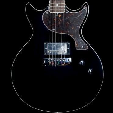 GS1000 Doublecut Special Electric Guitar with Coil Split, Jet Black
