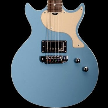 GS1000 Doublecut Special Electric Guitar with Coil Split, Nene Blue