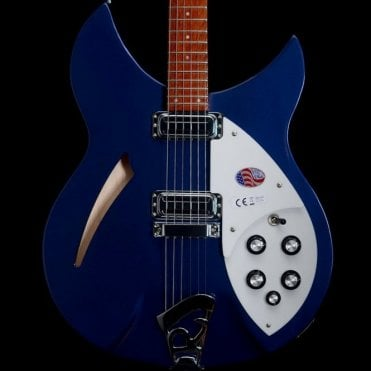 2018 330/6 Electric Guitar With Vintage Toaster Pickups, Midnight Blue