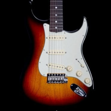 American Original 60's Stratocaster RWS, 3-Tone Sunburst