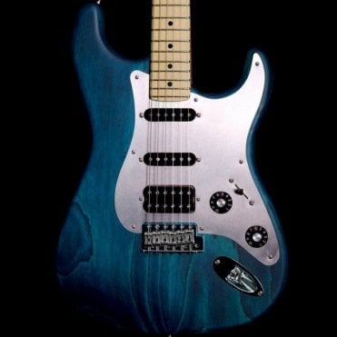 Jason Smith Masterbuilt Stratocaster in Trans Turquoise Satin, Pre-Owned