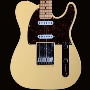 1996 Nashville Telecaster with Birdseye Maple Neck in Olympic White, Pre-Owned