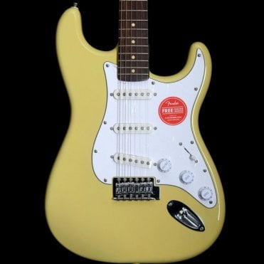Vintage Modified Stratocaster in Vintage Blonde