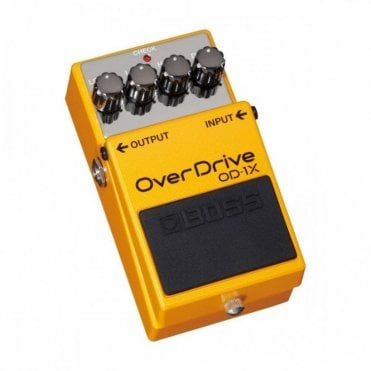 Boss OD-1X Overdrive Special Edition Effects Pedal (Ex-Display)