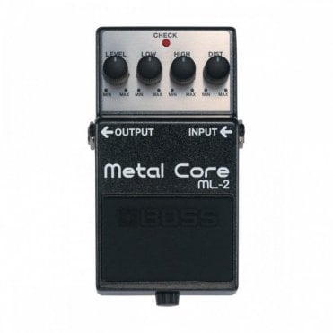 Boss ML-2 Metal Core Effects Pedal (Ex-Display)