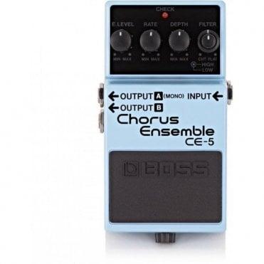 Boss CE-5 Chorus Ensemble Guitar Effects Pedal (Ex-Display)