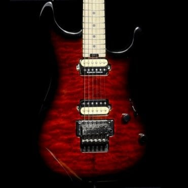 Charvel Pro-Mod San Dimas Style 1 HH Floyd Rose in Transparent Red Burst