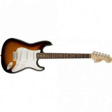 Squier Affinity Series Stratocaster - Brown Sunburst - Indian Laurel Fingerboard