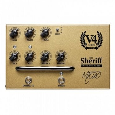 V4 The Sheriff Preamp Pedal
