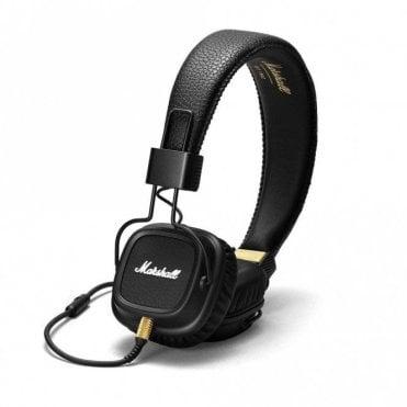 Marshall Major II Headphones - Black - Open Box