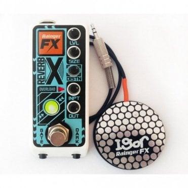 Reverb-X Digital Reverb Mini Pedal w/ Igor Controller Pad