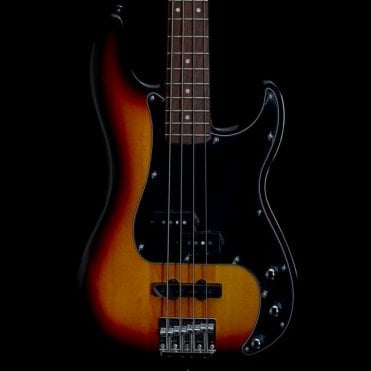 Vintage Modified Precision Bass PJ in 3-Tone Sunburst