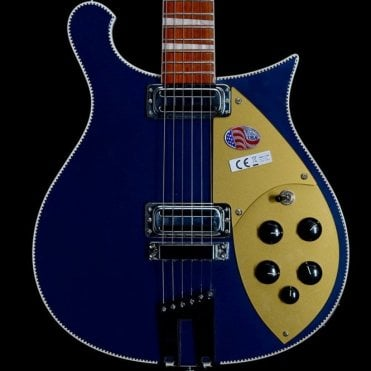 660 6-String Electric Guitar in Midnight Blue, Pre-Owned