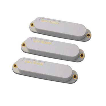 Sensor Gold Pack Single Coil Pickup Set (White)