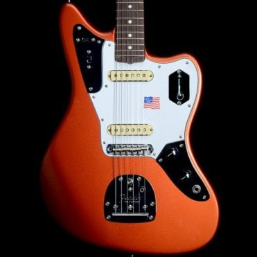Johnny Marr Jaguar, Metallic KO w/ Rosewood Fingerboard