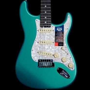 American Elite Stratocaster, Ocean Turquoise w/ Ebony Fingerboard