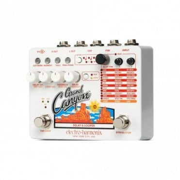 Grand Canyon Delay & Looper Pedal