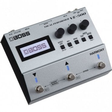 VE-500 Vocal Performer Effects Pedal for Vocalists