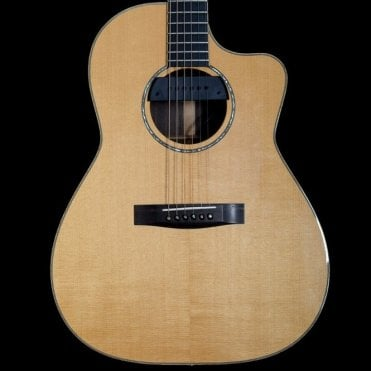 CM Spruce/Rosewood USA Electric-Acoustic Guitar, Pre-Owned