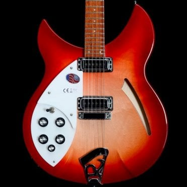 330/6 6-String Left Handed Electric Guitar in Fireglo, 2018 Model
