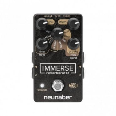 Immerse MkII Reverberator Pedal