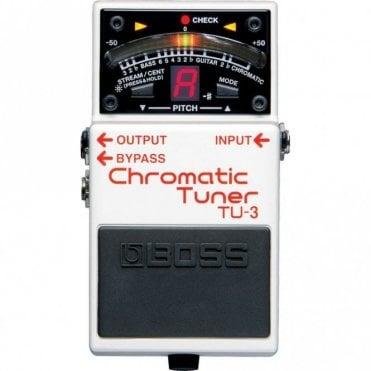 TU-3 Chromatic Tuner Pedal (No Box)