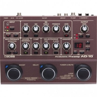 AD-10 Acoustic Preamp (Refurbished)
