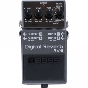 RV-5 Reverb Effects Pedal (No Box)