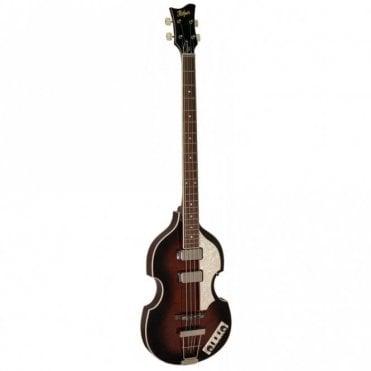 Hofner HCT-500/1-DBR Contemporary Series Limited Edition Dark Brown Violin Bass