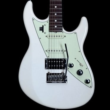 James Tyler Variax JTV-69 US Custom Electric Guitar, Olympic White