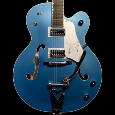 G6136T-59 White Falcon Limited Edition, Lake Placid Blue Semi-Hollowbody Electric Guitar